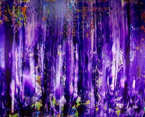 Deep Purple by Nestor Toro in Los Angeles