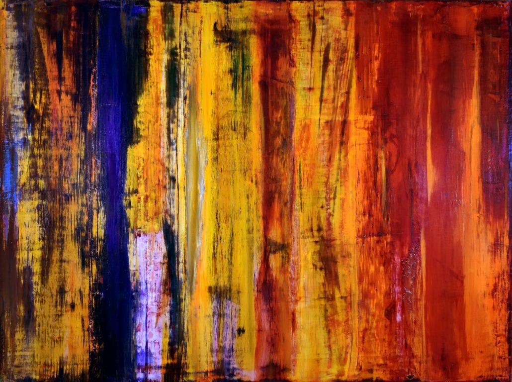 Iridescent Volcanic Spectra - artist - Nestor Toro